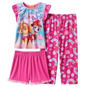 Paw Patrol 3-piece pajamas 2T